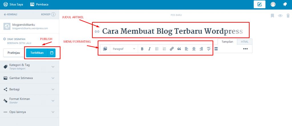 Cara Buat Blog WP 6