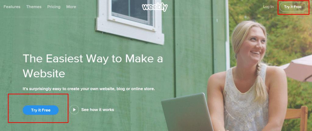 Cara membuat Blog di Weebly 1