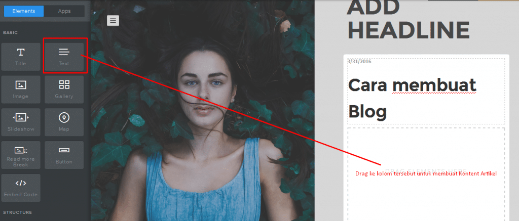Cara membuat Blog di Weebly 10
