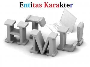 Entitas Karakter HTML