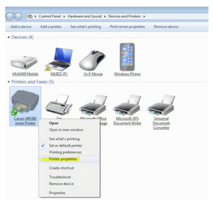 Cara Sharing Printer Dengan Cepat di Windows XP 7,8 & 10 2 1