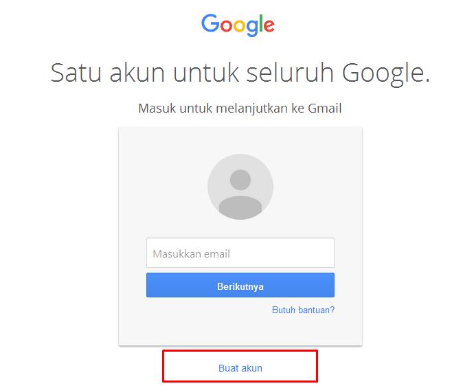 CaraBuat Email Gmail 1