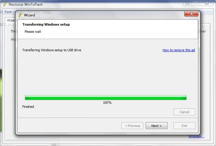Instal Win7 menggunakan Flashdisk 3