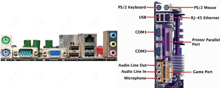 port input dan output