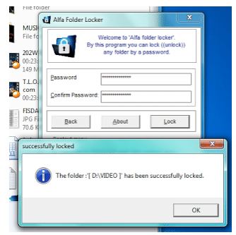 Cara Mengunci Folder Dengan Software