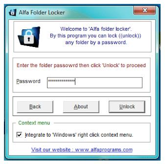 Cara Mengunci Folder Dengan Software 5