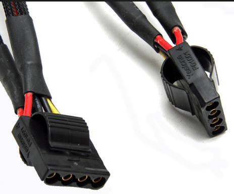 4 Pin Peripherial Power Connector