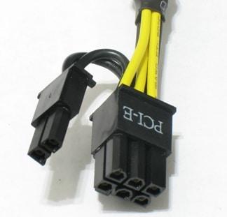 6 pin PCI-E connector