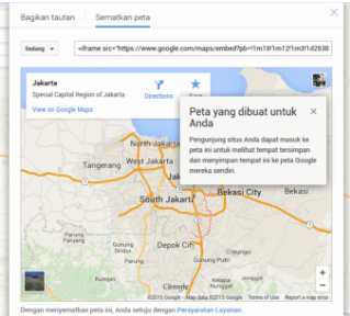 Cara Memasukkan Google Map Ke Website 6