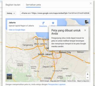 Cara Memasukkan Google Map Ke Website 6