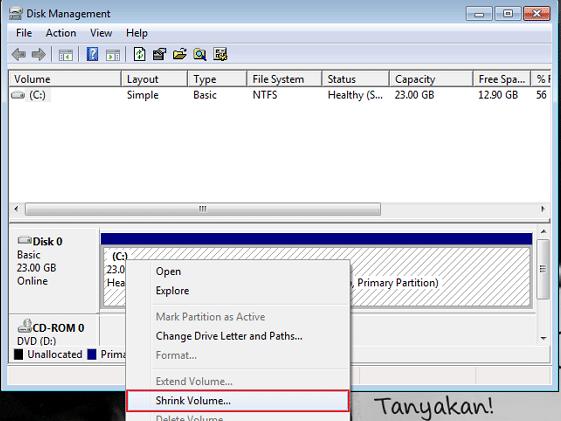 Cara Membuat Partisi di Windows 7 2