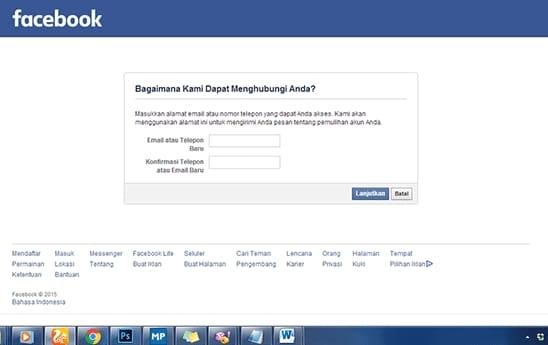 Daftar facebook baru dari yahoo dating