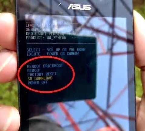 Flash Asus Zenfone 4