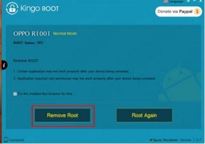 Menggunakan Kingo Root