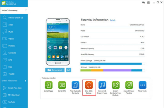Wondershare MobileGo for PC