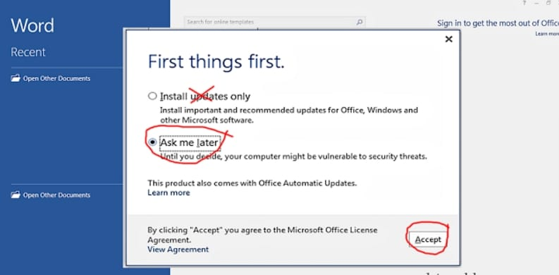 Microsoft office free download