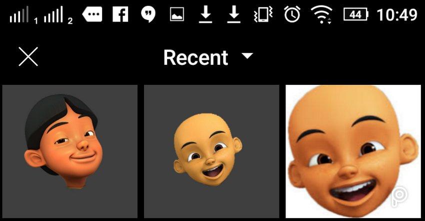 2 Cara Mudah Edit Foto Kepala Upin Ipin Atau Kartun Lain Di Android