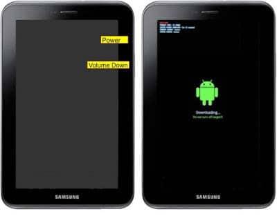 Cara Flashing Samsung Galaxy Tab 2 P3100