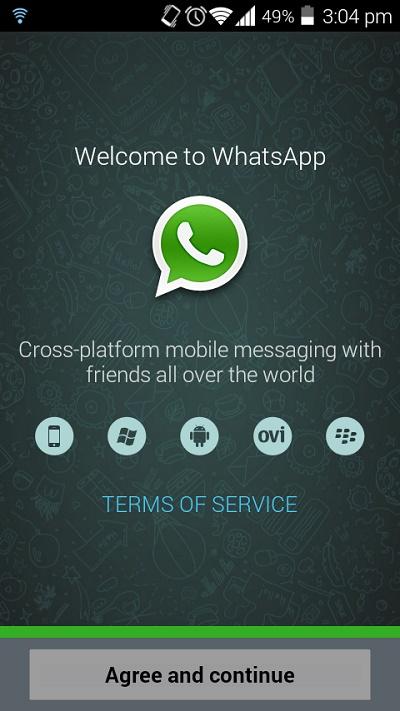 Cara Membuat Akun Whatsapp