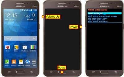 Cara Reset Samsung Galaxy Grand Prime