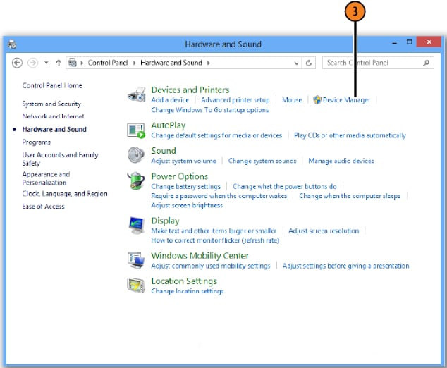 Cara Update Driver Windows 8