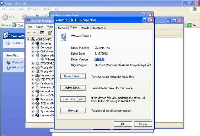 Cara Update Driver Windows XP