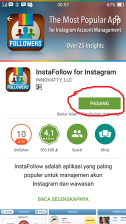 Cek Unfollow Instagram