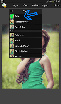 Cara Membuat Garis Tepi Putus – Putus atau Dotted di Foto Dengan PicSay