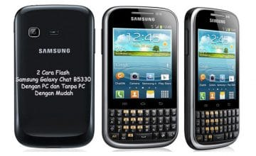 Cara Flash Samsung Galaxy Chat