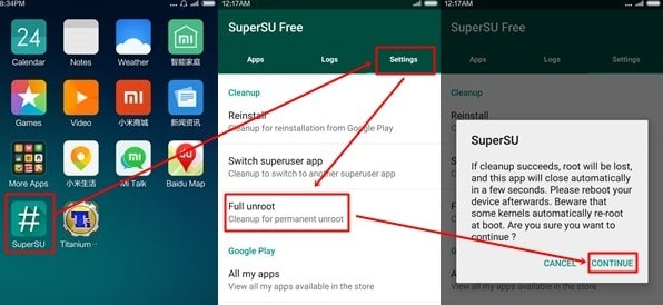 Cara Unroot Xiaomi Redmi Note 2