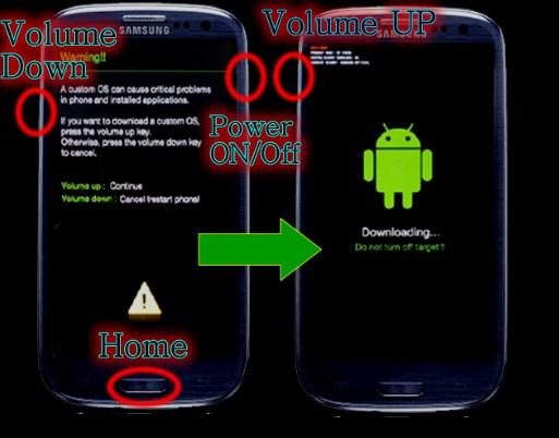 Cara Flash Samsung Galaxy A3