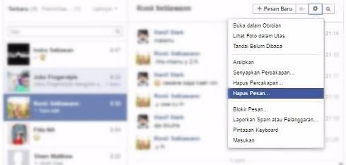 2 Cara Menghapus Semua Pesan Di Facebook Lewat Hp Android Dengan