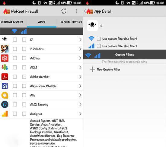 Firewall: Root Firewall Pro Apk