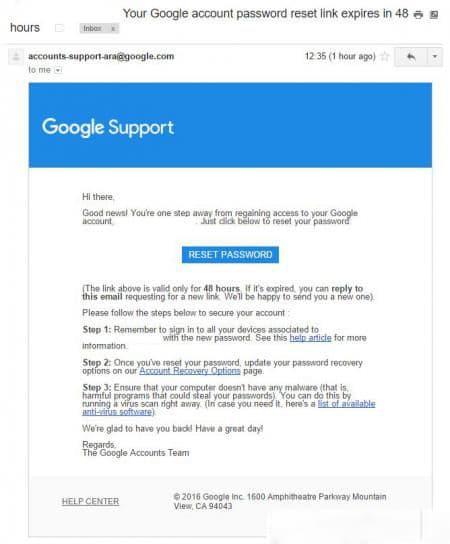 Cara Mengembalikan Password Akun Google atau Gmail yang