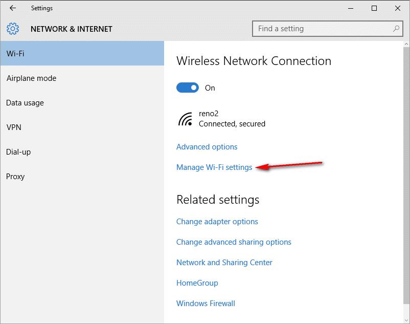 Cara Menghapus Jaringan Wi-Fi Yang Tersimpan di Windows 10 1