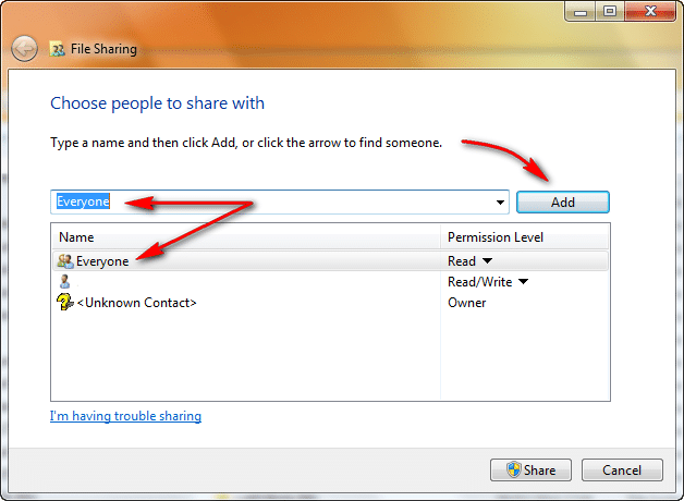 Cara Sharing Data Pada Windows1