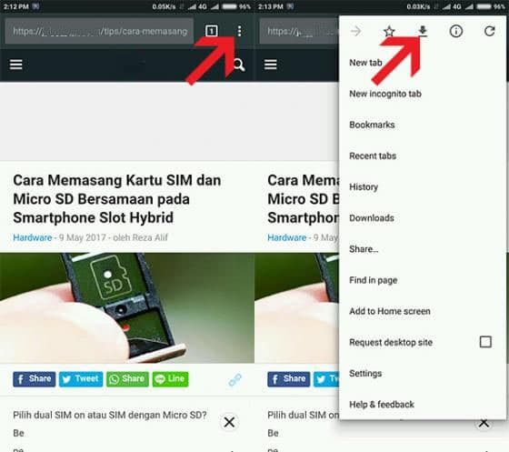 Cara Browsing Tanpa Internet di Google Chrome Android