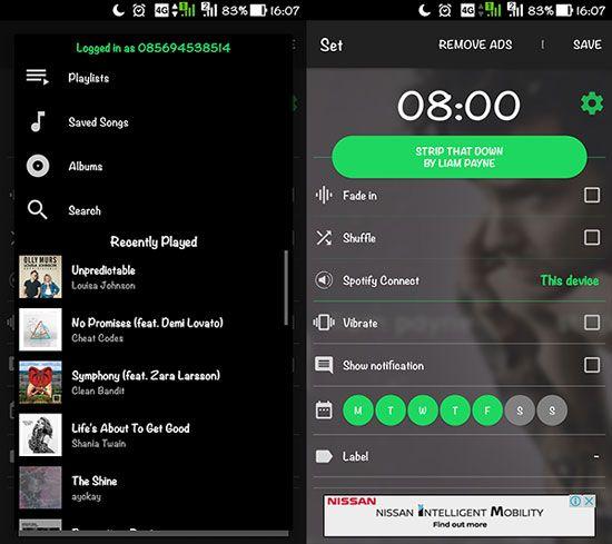 Cara Mengubah Spotify Jadi Alarm2