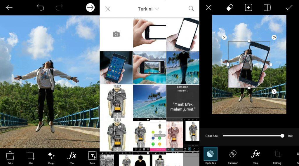 Cara Edit Foto Out The Frame Dengan PicsArt1
