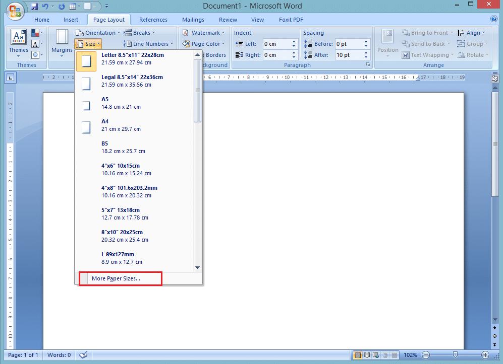 Cara Mengubah Ukuran Kertas di Microsoft Word3