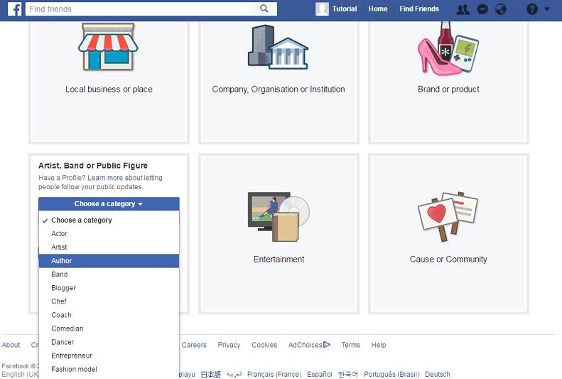 Cara Mudah Membuat Fanspage di Facebook Lewat HP Android