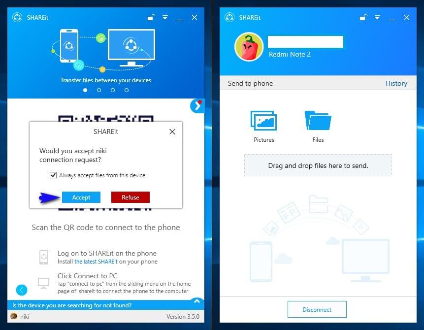 Cara Mengirim File/Data Dari Android Ke Laptop/PC Dengan ...