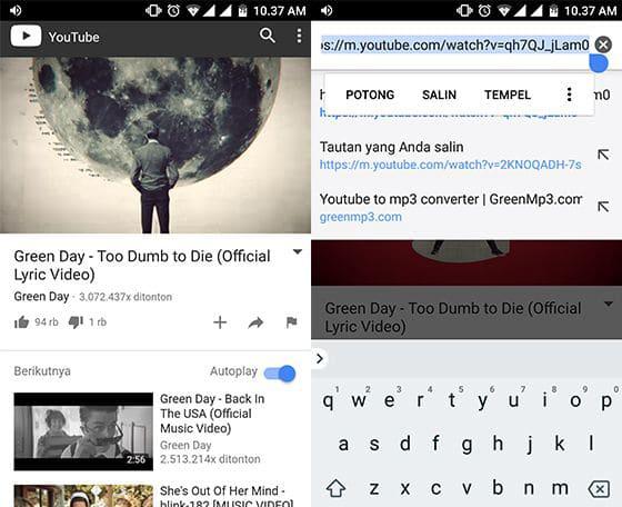 Begini, Cara Download Video Musik YouTube Jadi MP3 Di