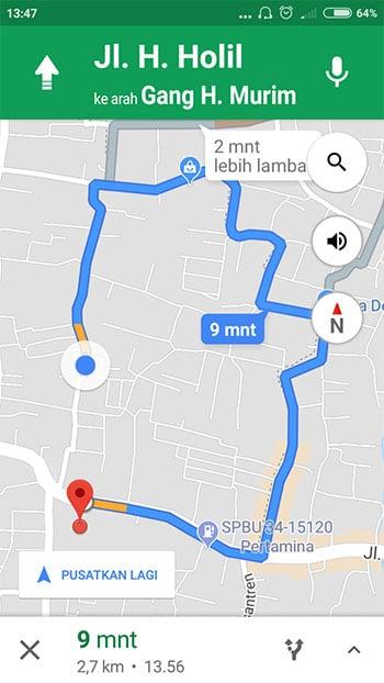 Begini Cara Menggunakan Google Maps Secara Offline Di