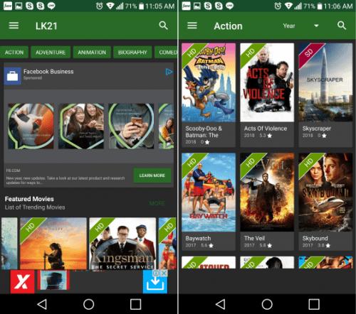 begini cara download film gratis di hp android sangat