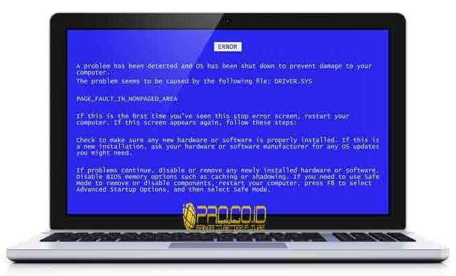 Image Result For Cara Mengatasi Blue Screen Windows