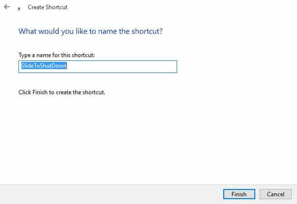 Cara Membuat Shortcut Slide to Shutdown di Windows 10 1
