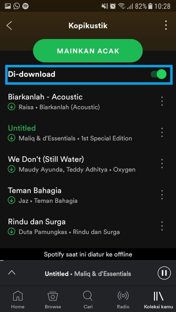 cara download lagu termudah