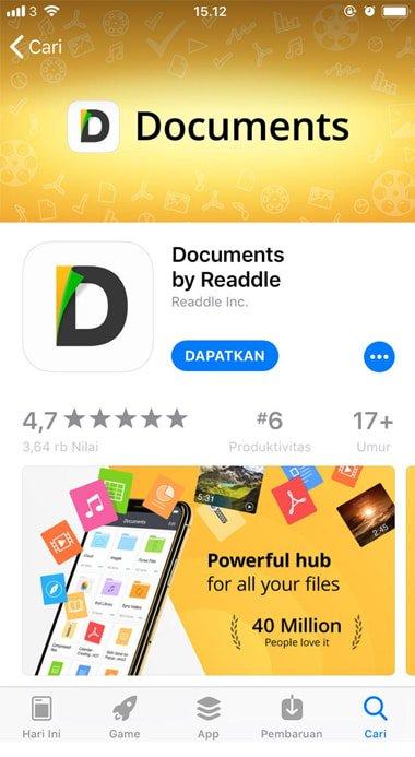 cara download lagu di hp iphone
